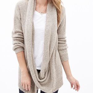 (Small) Forever 21 Draped Cardigan